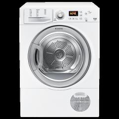 Ariston Dryer with Condenser 9 Kg Digital White: TCF 97B 6S1 (EX)