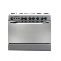 White Point GAS COOKER GAS 60*80 CM 5 BURNERS Free Stand Stainless: WPGC 8060SXTA