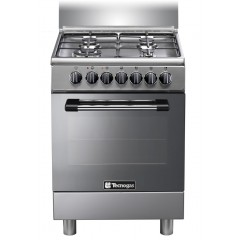 Tecnogas 60*60 cm 4 Burners Full Safety Stainless: P3X66G4VE