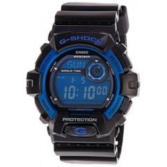 CASIO Men's Sport G8900A-1 Black Resin Quartz Watch with Blue Dial: G-8900A-1DR