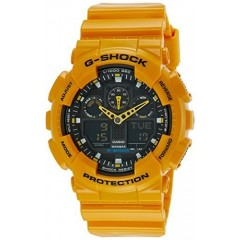 Casio Men's G-Shock Watch: GA-100A-9ADR