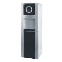 White Point Water Dispenser Cold/Hot with Fridge Black Front: WPWD88FB