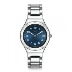 Swatch Blue Pool Blue Dial Stainless Steel Men's Watch: YGS474G