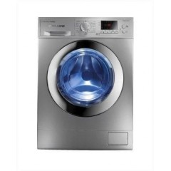 White Point Washing Machine 8 Kg 1200 rpm Digital Silver: WPW 8121 DSC