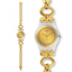 Swatch Women's Originals Gold Stainless-Steel Swiss Quartz Watch: LK346G