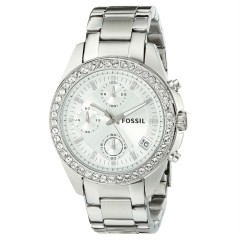 FOSSIL Decker Chronograph Silver Dial Ladies Watch: ES2681