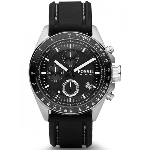 FOSSIL Watch Decker Mens Strap Color Black: CH2573IE