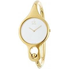 CALVIN KLEIN Ladies' Air Medium Bangle Watch: K1N22526