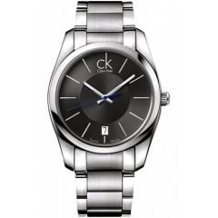 CALVIN KLEIN Black Dial Men's Strive Watch: K0K21107