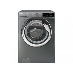 HOOVER Washing Machine 8Kg Fully Automatic 1300 rpm Silver color: DXOA38AC3R-EGY