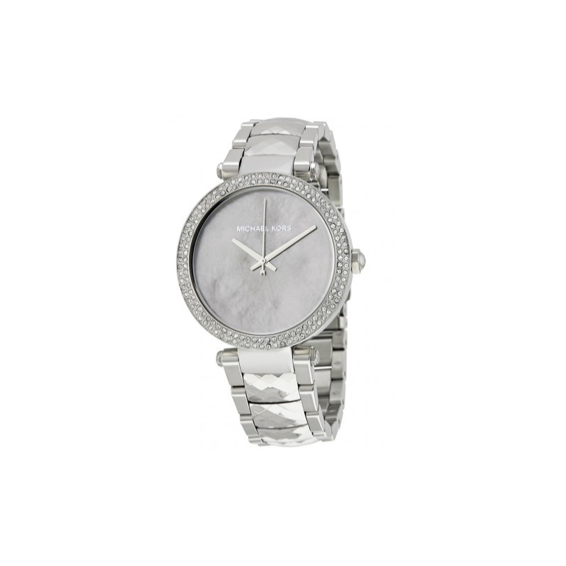 Michael kors parker mother of pearl dial ladies watch for Michaels craft store watches