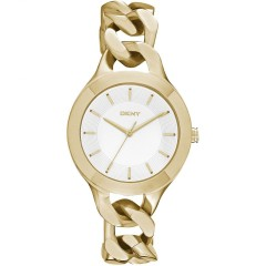 DKNY Women's Watch Gold Bracelet Case Material Gold Plate: NY2217