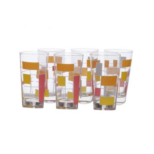 Luminarc Timeless Delta Drinking Set 6 Pieces: N7485