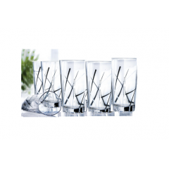 Luminarc Delta Infinity Drinking Set 6 Pieces: J5524