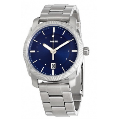 FOSSIL Machine Blue Dial Stainless Steel Men's Watch: FS5340