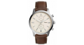 FOSSIL Townsman Cream Dial Men's Chronograph Watch: FS5350