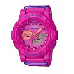 CASIO Baby-G For Running Series Analog Digital Ladies Watch: BGA-185FS-4ADR