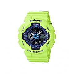 CASIO Baby-g Analog-Digital Blue Dial Women's Watch: BA-110PP-3ADR