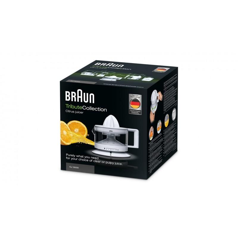 Braun CJ3000 Citrus Juicer White