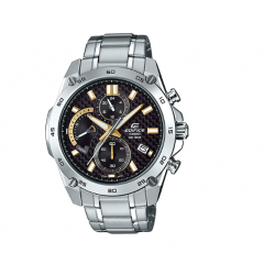 CASIO Edifice Chronograph Stainless Steel Black Dial Men's Watch: EFR-557CD-1A9VUDF
