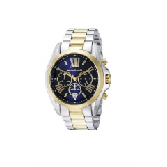 MICHAEL KORS Bradshaw Chronograph Blue Dial Two-tone Ladies Watch: MK5976