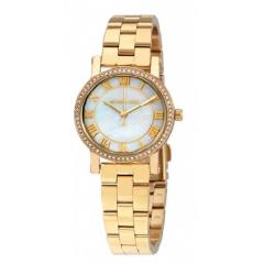 MICHAEL KORS Petite Norie White Mother of Pearl Dial Ladies Watch: MK3682
