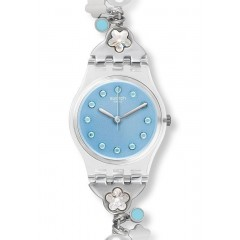 SWATCH Flower Bumble Blue Dial Ladies Watch LK356G