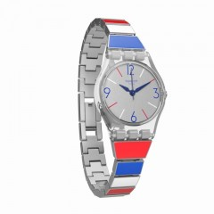 SWATCH Miss Mariniere Lady's Stainless Steel Watch: LK364G