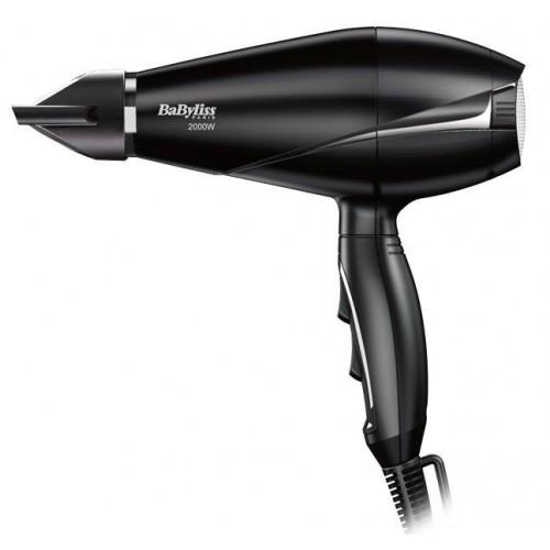 BaByliss Hair Dryer 2000W Black: 6604E