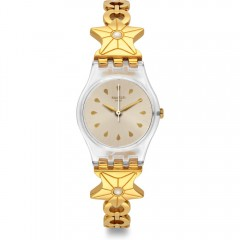 SWATCH Etoile De Mer Ladies Stainless Steel Band Watch: LK366G