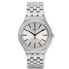 SWATCH Men's Watch Stainless Steel Silver Color: YWS429G