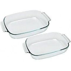 Luminarc Pyrex Oven Pan Set 2 pieces