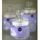 Luminarc Sugar Bowl Set 3 Pieces