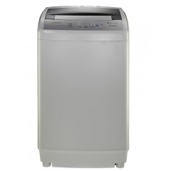 White Point Washing Machine Topload 8 Kg Silver: WPTL8DGBA