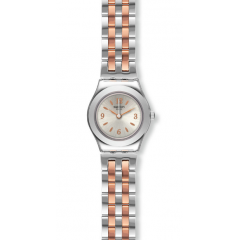 SWATCH MINIMIX Stainless Steel Ladies Watch Silver*Gold Color: YSS308G
