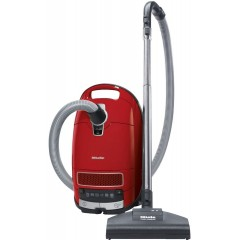 Miele Cylinder Vacuum Cleaner 2000 Watt Complete C3 Powerline Red: SGDA0 C3