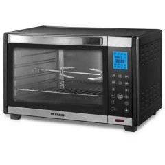 Fresh Electric Oven 45 Liter Digital With Grill Black: RCLD4502
