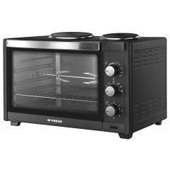 Fresh Electric Oven 45 Liter With 2 Electric Plate With Grill and Fan: Oven2P