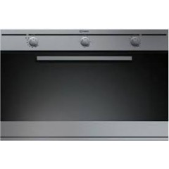 Indeist Built-In Gas Oven 90 cm With Electric Grill Stainless Steel: FGIM21.1M(IX)
