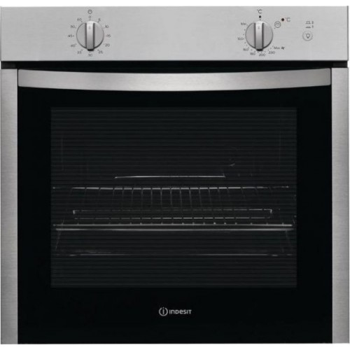 Indesit Built In Gas Oven 60cm With Electric Grill: IGW324IX