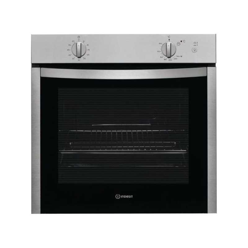 indesit built in gas oven 60cm with electric grill. Black Bedroom Furniture Sets. Home Design Ideas