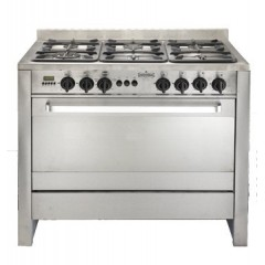 Universal gas cooker 6 burner full safty with fan cast digital :D60100