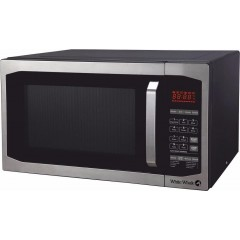 White Whale Microwave 42 liter With Grill and Fan Black: MWO-42SBL