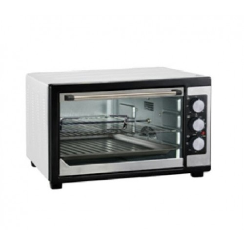 WELLSUN Electric Oven 45 liter With Grill and Fan Stainless: TO-451RCL ST
