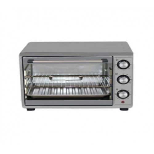 WELLSUN Electric Oven 35 liter With Grill Silver: TO-353R