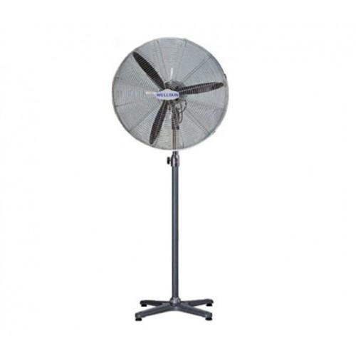 WELLSUN Industrial Metal Stand Fan 30 Inch 3 Fins Dark Green: UR-ISA30Stand