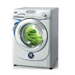 Kiriazi Washing Machine 9 KG 1200 RPM White: WM-9KGM-W
