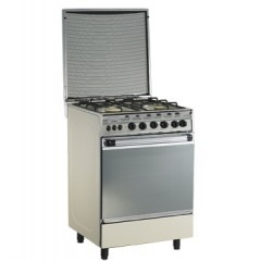 Universal gas cooker 4 Gas Burners stainless: Bombay 5504