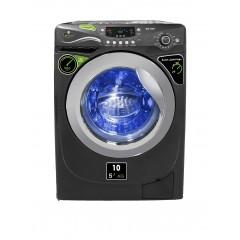 Kiriazi Washing Machine 10 KG 1200 RPM Silver: WM-10KGM-S