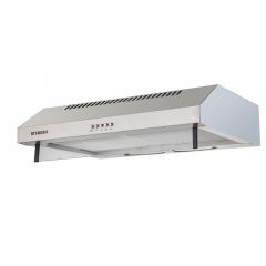 FRESH Cooker Hood Built In 60 cm Crystal 480 m3/h Stainless Steel: HFT 60CM/UN